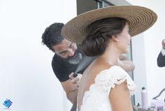 últimos toques! #weddding planner #weddinghair #novia #boda