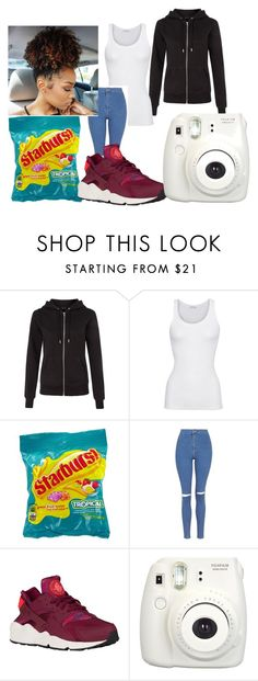 """""""It's Friday!!!"""" by mayalei ❤ liked on Polyvore featuring American Vintage and Topshop"""
