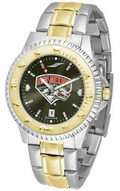 New Mexico Lobos- University Of Competitor Anochrome - Two-tone Band - Men's - Men's College Watches by Sports Memorabilia. $95.43. Makes a Great Gift!. New Mexico Lobos- University Of Competitor Anochrome - Two-tone Band - Men's