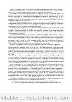 Printable Sample Standard Rental Agreement Form  Legal Template