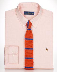 Classic Pinpoint Oxford Shirt - Polo Ralph Lauren Classic-Fit - RalphLauren.com
