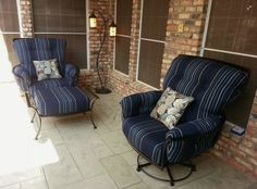 Monterra swivel rocker lounge chairs from O.W. Lee Enjoy Your Outdoor Room - Yard Art Patio & Fireplace