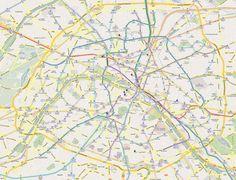 Plan de Métro de Paris - Google Maps