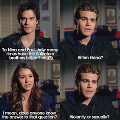 This is why Paul Wesley is my favourite person  This interview is so funny omg Fav cast member?