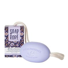 Soap on a Rope - Lavender Get a grip! Shea Butter enriched 'Soap on a Rope' lathers gently, cleansing skin. Messy soap trays are eliminated. And soap dries faster and lasts longer. Provence Lavender, Lavender Scent, Wholesale Soap, French Soap, Soap On A Rope, Skin Cleanse, Best Soap, Best Candles, Home Made Soap