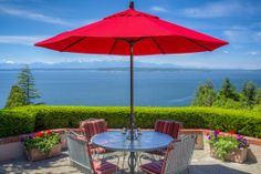 A jaw-dropping view of Puget Sound and the Olympic Mountains. Seattle, WA Coldwell Banker BAIN