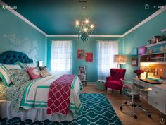 Girl Teen Room pretty tween bedroom | room, room ideas and bedrooms