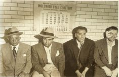 mickey cohen awaiting booking. August 1948.