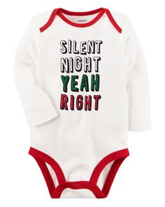 With a sweet slogan and expandable shoulders, this babysoft cotton bodysuit pairs perfectly with cozy pull-on pants for quick changes and easy outfits.