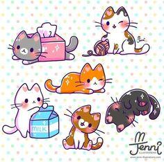 Pin by kawaii kitty on kawaii kittens in 2019 cute cat drawing, cute animal Chat Kawaii, Kawaii Chibi, Kawaii Cat, Cute Chibi, Kawaii Anime, Chibi Cat, Cute Kawaii Animals, Cute Animal Drawings Kawaii, Cute Drawings