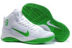 Nike Zoom Hyperfuse Rajon Rondo Shoes White Lucky Green- more shoes I want!