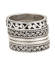Lois Hill Intricate Stacked Bands