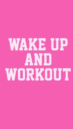 Wake Up & Workout #wallpaper for #iPhone. Follow me at mobile9.com here >> http://m9.my/go/aliciawwp