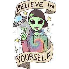 Believer Sticker by Mar-on-Mars