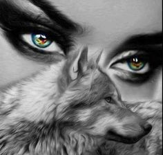 Eye of the wolf Wolf Images, Wolf Pictures, Animal Pictures, Fantasy Wolf, Fantasy Art, Wolf Eyes, Wolves And Women, Wolf Artwork, Werewolf Art