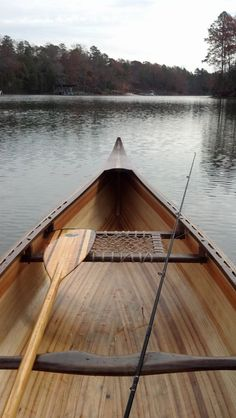 I would like to go canoeing... | Peterson wood canoe walnut cedar sweetgum by BlindHogGoods
