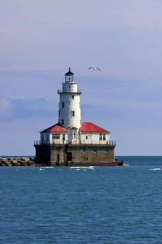 Chicago Harbor Light by Luis Alonso Garcia on 500px