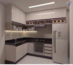 Este posibil ca imaginea să conţină: bucătărie şi interior Kitchen Room Design, Modern Kitchen Cabinets, Kitchen Cabinet Design, Kitchen Sets, Modern Kitchen Design, Kitchen Layout, Home Decor Kitchen, Interior Design Kitchen, Home Kitchens