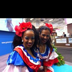 Representing the Dominican Republic at ITB Berlin.