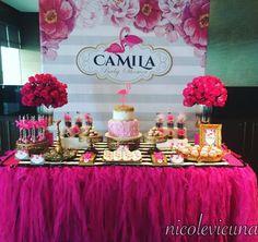 101 fiestas: Un Flamingo para tu Baby Shower #decoracionbabyshower