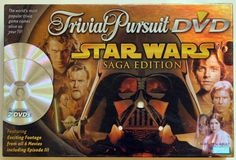 STAR WARS Trivial Pursuit DVD Game Saga Edition