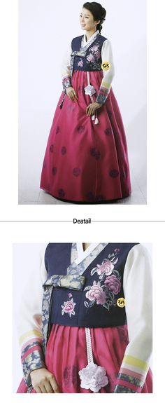 Hanbok-Korean traditional clothes, modernized hanbok for women