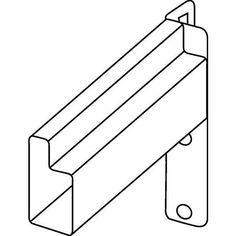 Lisse avec connecteur Epsivol - Largeur 1800 mm