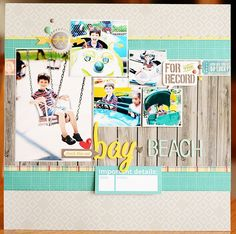 Bay Beach - Scrapbook.com - Favorited this week at Scrapbook.com