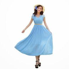 blue maxi dress: light blue maxi dress