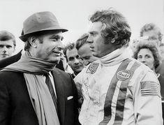 El día que Fangio asesoró a Steve McQueen