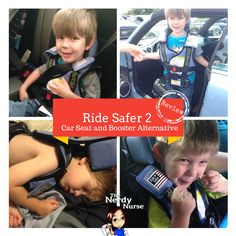 RideSafer 2: The Safe Alternative to Car and Booster Seats - This thing ROCKS for traveling with a preschooler!