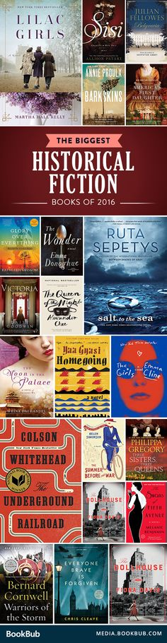 The historical fiction books to read from the past year. Filled with WW2 historical fiction, romance, and novels based on true stories.