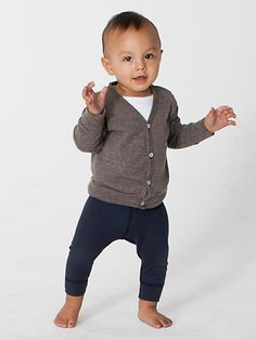 American Apparel - Infant Tri-Blend Rib Cardigan - $16.50. Need to buy mason another one! He grew out of his last one! :(
