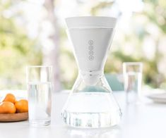 Soma Water Filter – An Hourglass-Shaped Carafe Design - $60