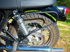 Scrambler Left Side Rack image 1
