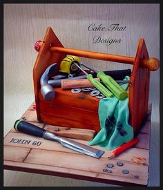 Toolbox cake by Cake. That Designs