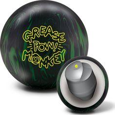 Radical Grease Monkey POW Bowling Ball Bowling Accessories, Bowling Ball, Grease, Monkey, Balls, Free Shipping, Jumpsuit, Monkeys, Greece