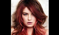 Red ombre hair does not mean that color will be only red; it is between red and other brighter colors to give natural shine to the hairs. - Page 4