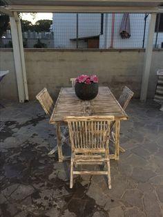 Tavolo da giardino shabby