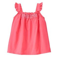 Toddler Girls Coral Starfish Top by Gymboree