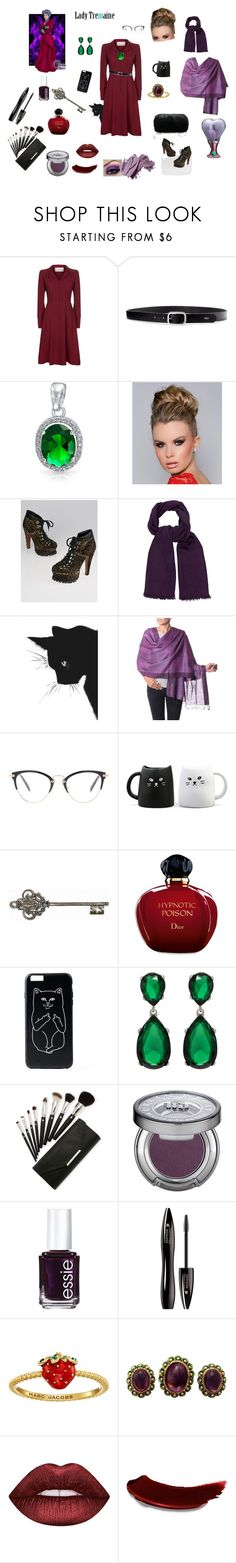 """Lady Tremaine in Real Life"" by fashion-designer-12-13 ❤ liked on Polyvore featuring Disney, Valentino, Lauren Ralph Lauren, Bling Jewelry, Alaïa, Hermès, NOVICA, Miu Miu, Miya and Graham & Brown"