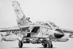 Aviation art, Tornado GR1, Gulf War