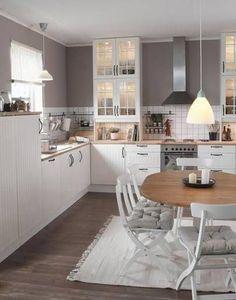 ikea :) side cover to worktop - # worktop # . ikea :] side cover to worktop – Kitchen Ikea, Kitchen Shelves, New Kitchen, Kitchen Dining, Kitchen Decor, Space Kitchen, Kitchen Wood, Wood Shelves, Dining Room