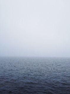 Morning Lake Michigan, Fog and Jog | Mitchell Estberg
