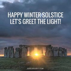 Happy Winter Solstice, Darlings! It's a time of rebirth, regrowth and renewal. If you want to join my next 30-day Adventure, you can find out more here ... http://adelarubio.com/4dq2