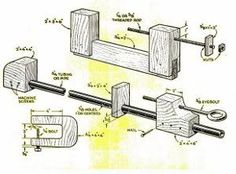 20 Free Clamp Plans: Homemade Clamps for Woodworkers  