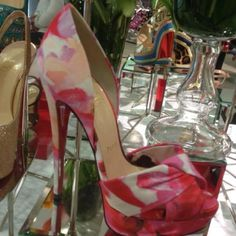 newest 55557 d1e11 A beautiful Rose Petal shoes. Check out the length of those heels!  gtahomes4sale