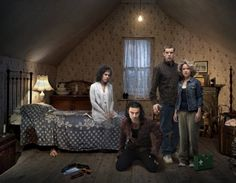 Being Human - BBC entire cast Sinead Keenan, Russell Tovey, Lenora Crichlow and Aidan Turner