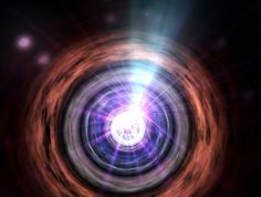 Cosmic Lens Caught Bending Bright Gamma-Ray Burst, a Space First