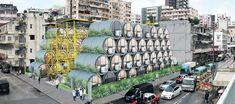 Bautizado como OPod Tube Housing por James Law Cybertecture, el proyecto son tubos de hormigón de 2.5 metros de ancho transformados en casas de 9.29m², con puertas que se pueden desbloquear usando teléfonos inteligentes. Incluso, con una estructura adicional, los tubos podrían insertarse fácilmente en espacios estrechos.